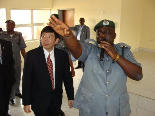 The-Commandant-shows-the-Sec-Gen-WCO-projects-currently-going-on-at-the-College