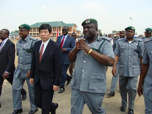 The-Sec-Gen-WCO-Mr-Kunio-Mikuriya-being-conducted-round-the-College-premises-by-the-Commandant-ACG-Saka-Yinusa