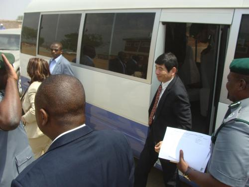 The-WCO-Sec-Gen-Mr-Kunio-Mikuriya-arrives-Command-Staff-College-Gwagwalada